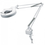 MAGNIFYING LAMP WITH TABLE CLAMP
