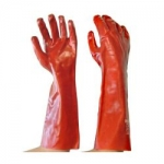 WSP PGR L45 Red 45cm Chemical Gloves