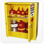 Fire Cabinet 2 door (250 litre) self close