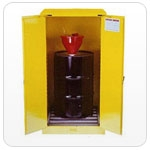 Fire Cabinet 2 door with roller self-close (205 litre)