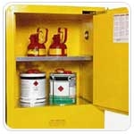 Fire Cabinet 2 shelf (30 litre) one door