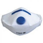 Respirator Disposable P2 Valved Flat Fold