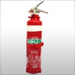 Fire Extinguisher 1kg Dry Powder ABE