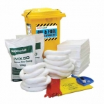 Large Capacity 400 litre Oli & Fuel Spill Kit