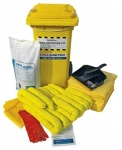 Mobile 120L Chemical Spill Kit