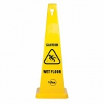 890mm Safety Cone Caution Wet Floor