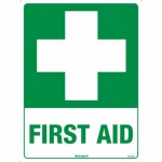 First Aid Sticker Pk 10