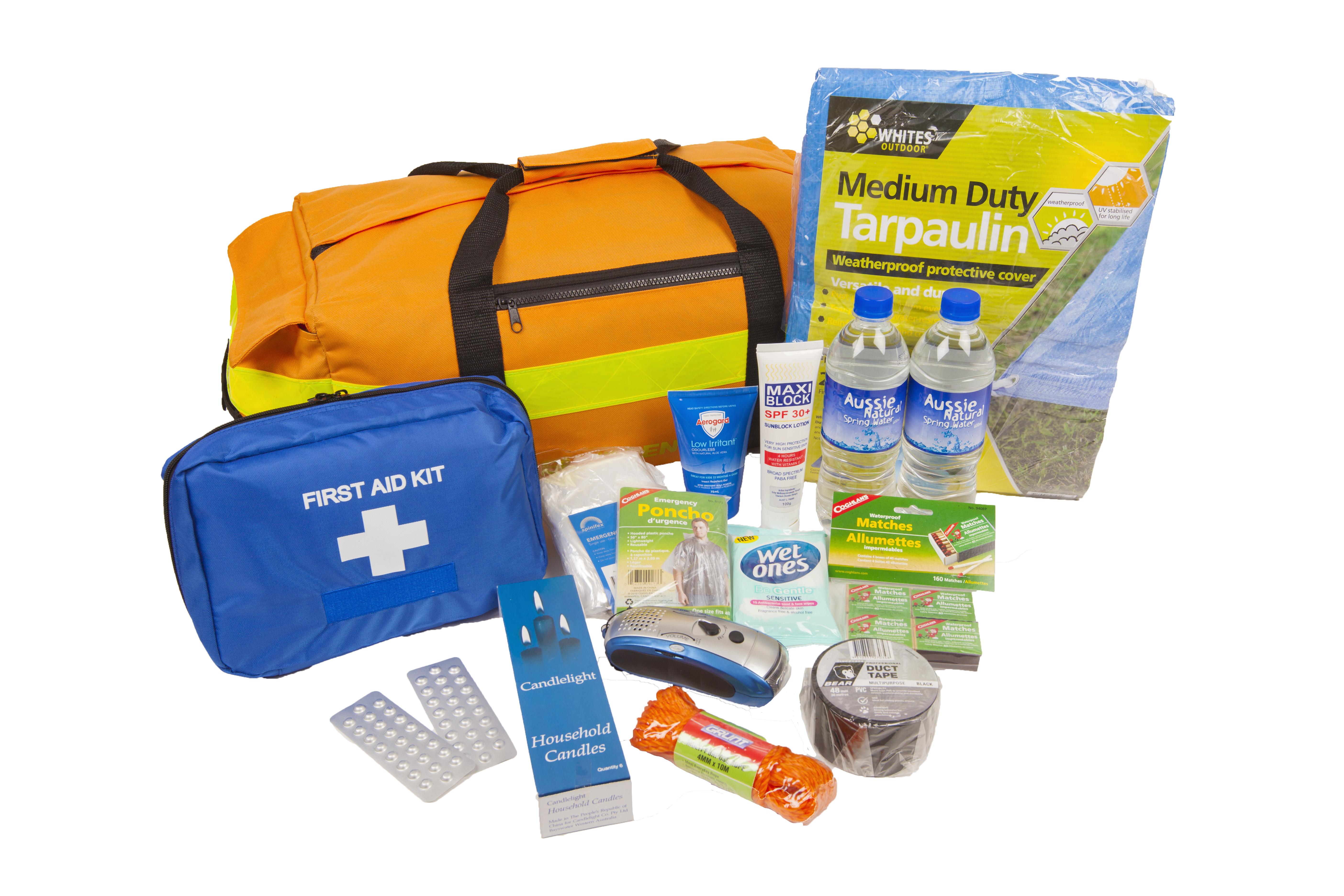 Cyclone Emergency Survival Kit